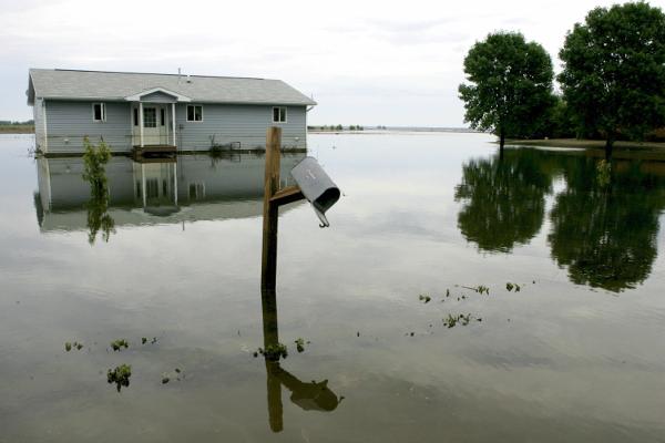 Flooding in Oakville