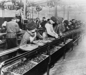 In a factory, you have many options to increase revenue or cut costs. Ford Assembly line, wikipedia.