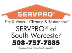 ServPro of South Worcester Ad