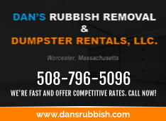 Dan's Rubbish Removal and Dumpster Rental Ad