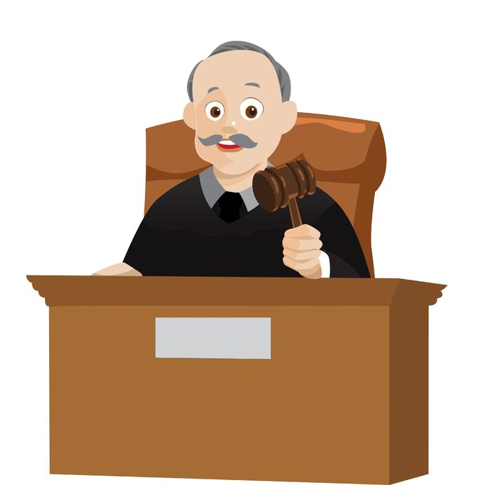 cartoon judge for laws by chapter and verse