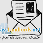 letter from the executive director, logo