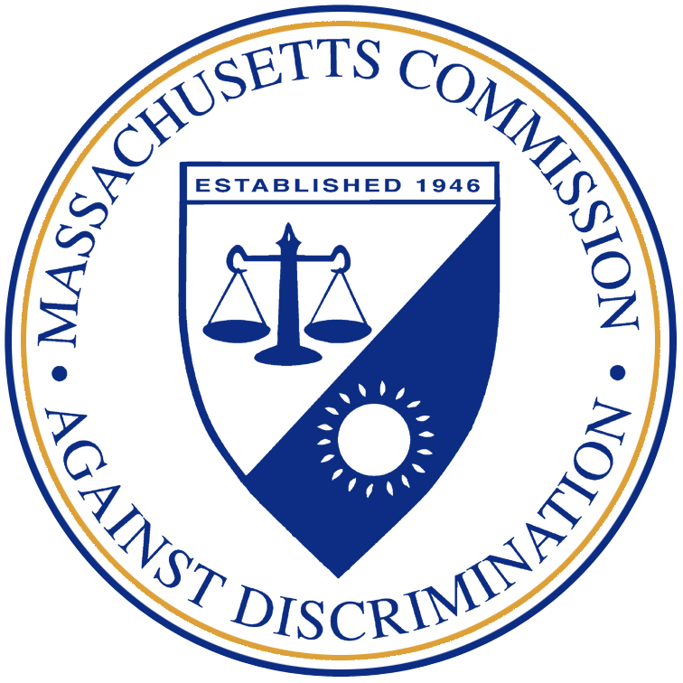 logo for the massachusetts commission against discrimination