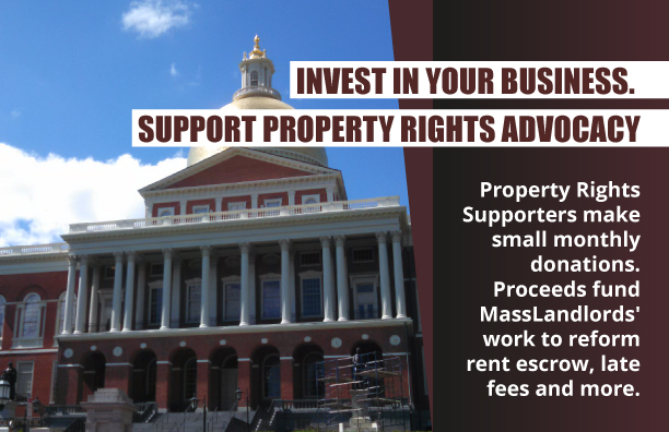 Ad for Property Rights Supporters