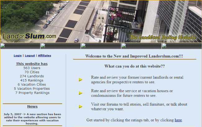 List of Landlord Ratings Sites: The Landlord Review Site Exposed