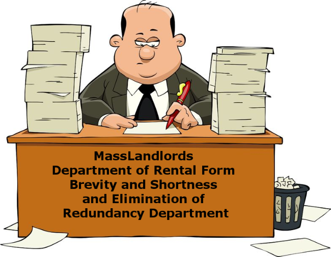 MassLandlords Security Deposit Forms Overhauled