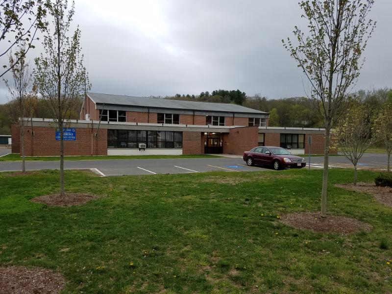 exterior of casuabon senior center