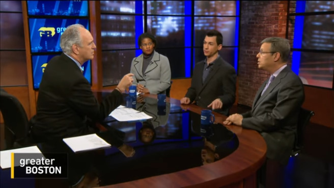 MassLandlords Executive Director Doug Quattrochi, screenshot from WGBH Greater Boston with Jim Braude, December 7, 2016.