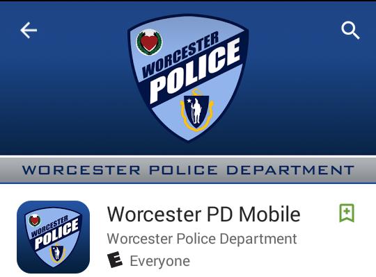 worcester pd mobile app